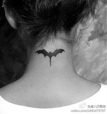 Simple Small Batman Tattoo Designs Ideas (53)
