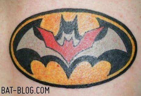 Simple Small Batman Tattoo Designs Ideas (57)