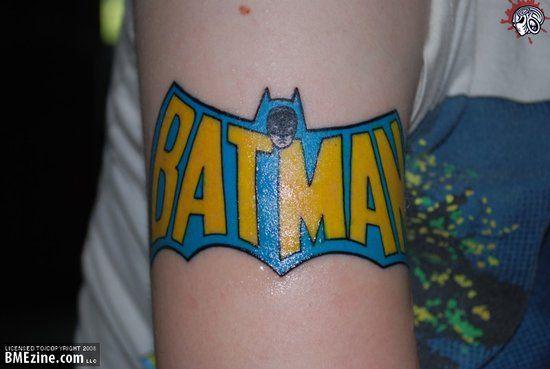 Simple Small Batman Tattoo Designs Ideas (58)