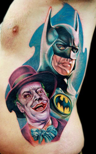 Simple Small Batman Tattoo Designs Ideas (64)