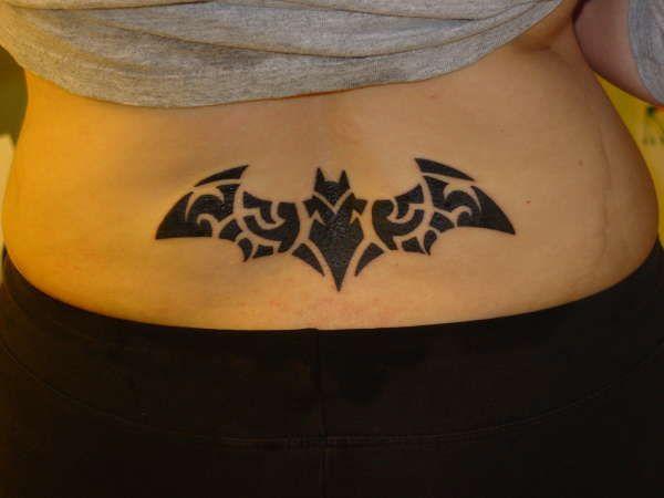 Simple Small Batman Tattoo Designs Ideas (65)