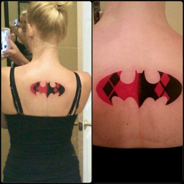Simple Small Batman Tattoo Designs Ideas (66)