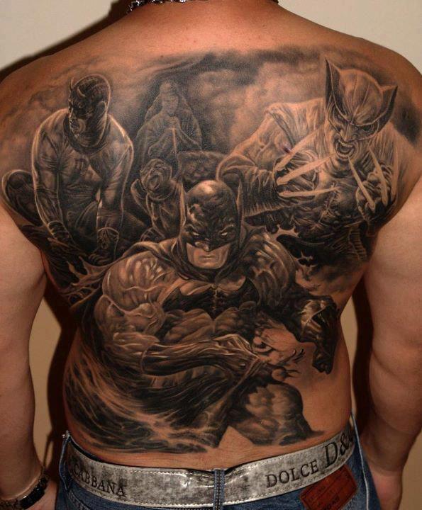 Simple Small Batman Tattoo Designs Ideas (71)