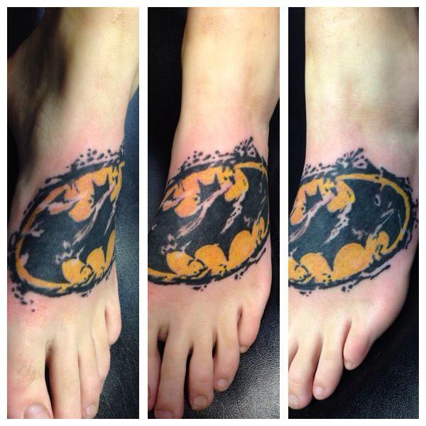 Simple Small Batman Tattoo Designs Ideas (75)