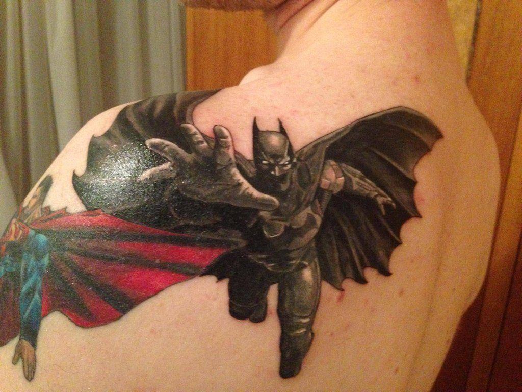 Simple Small Batman Tattoo Designs Ideas (76)