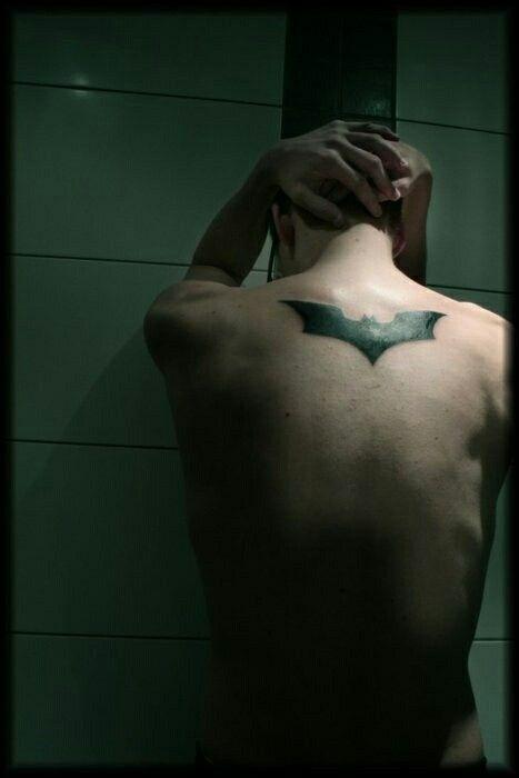 Simple Small Batman Tattoo Designs Ideas (8)