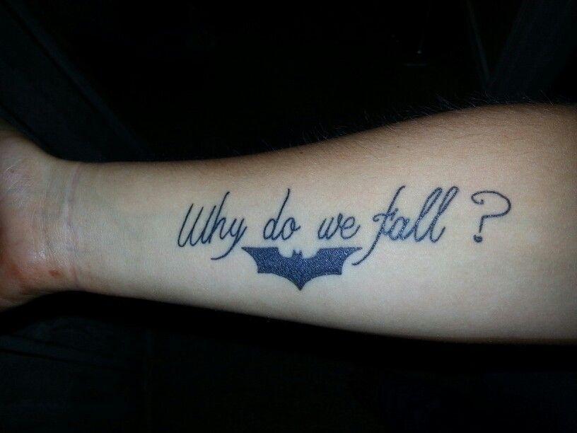 Simple Small Batman Tattoo Designs Ideas (88)