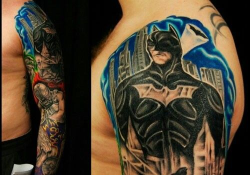 Simple Small Batman Tattoo Designs Ideas (89)