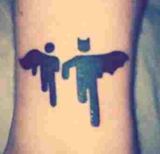 Simple Small Batman Tattoo Designs Ideas (91)