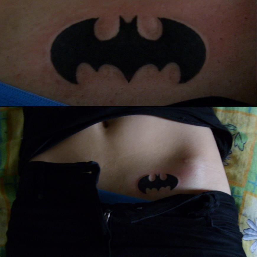 Simple Small Batman Tattoo Designs Ideas (94)