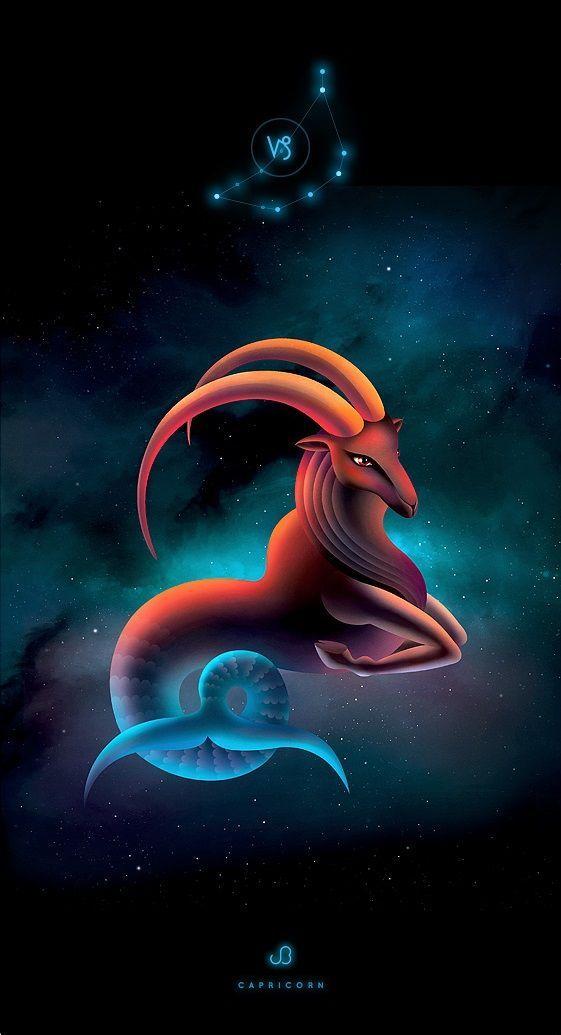 Capricorn Zodiac Horoscope Tattoos (101)