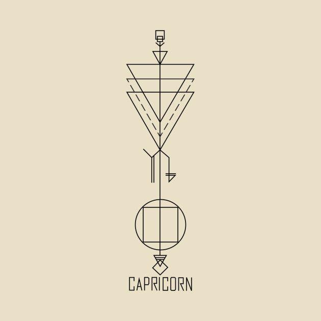 Capricorn Zodiac Horoscope Tattoos (116)