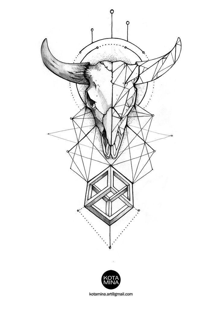 Capricorn Zodiac Horoscope Tattoos (117)