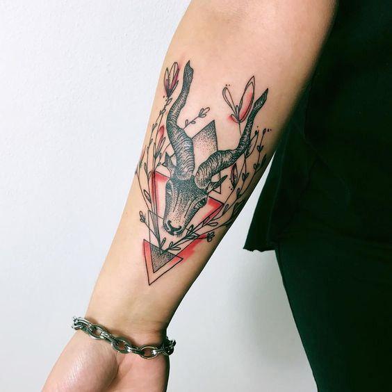Capricorn Zodiac Horoscope Tattoos (12)