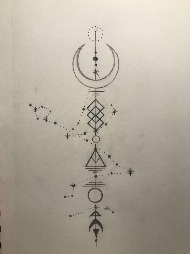 Capricorn Zodiac Horoscope Tattoos (124)