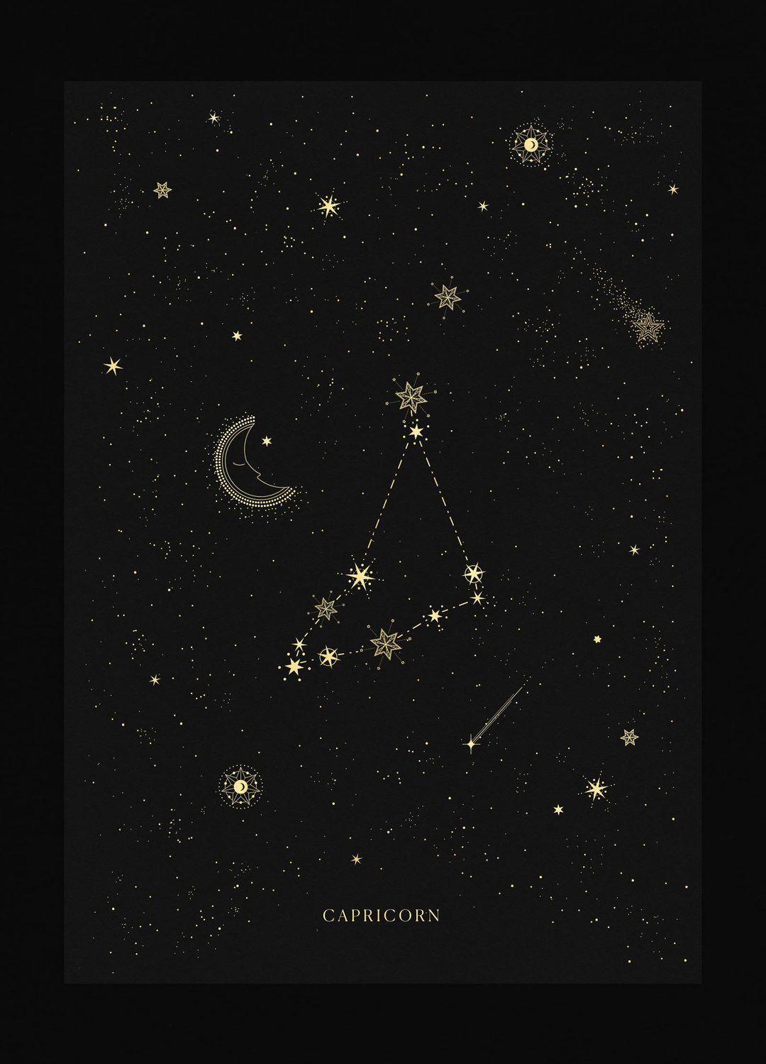 Capricorn Zodiac Horoscope Tattoos (141)