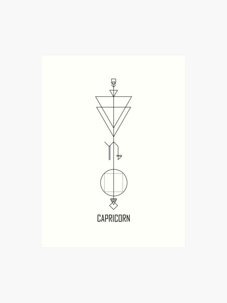 Capricorn Zodiac Horoscope Tattoos (143)