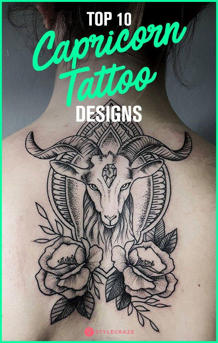 Capricorn Zodiac Horoscope Tattoos (145)