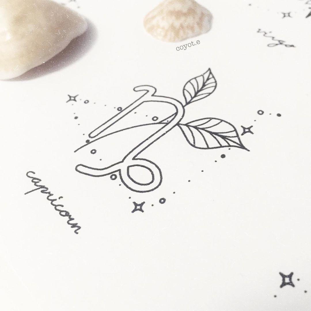 Capricorn Zodiac Horoscope Tattoos (149)
