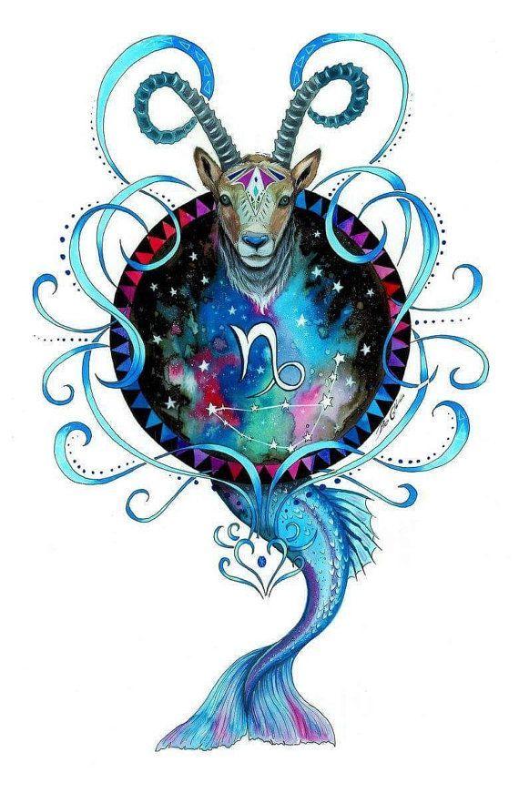Capricorn Zodiac Horoscope Tattoos (15)