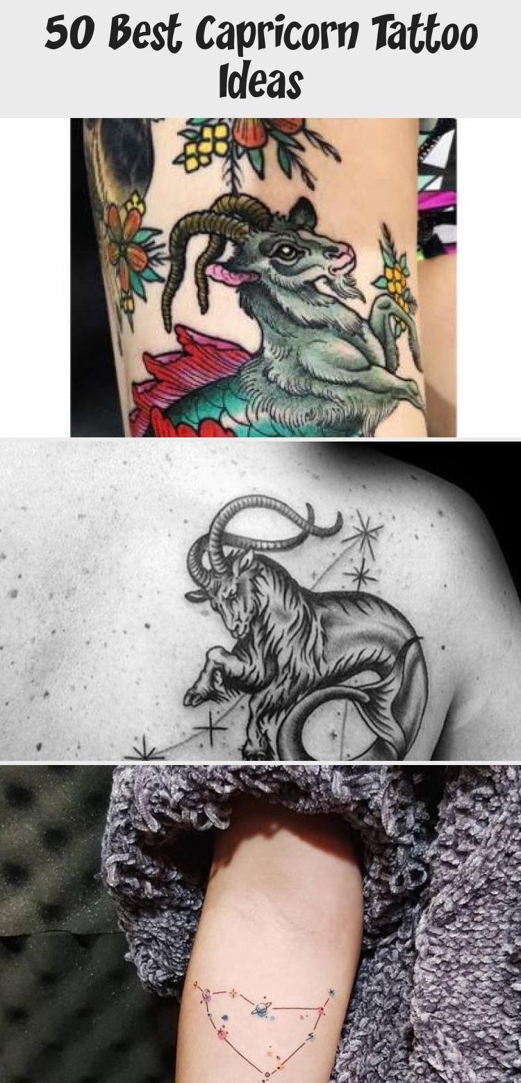 Capricorn Zodiac Horoscope Tattoos (184)