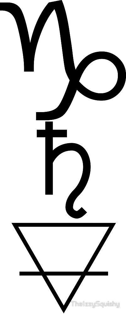 Capricorn Zodiac Horoscope Tattoos (186)