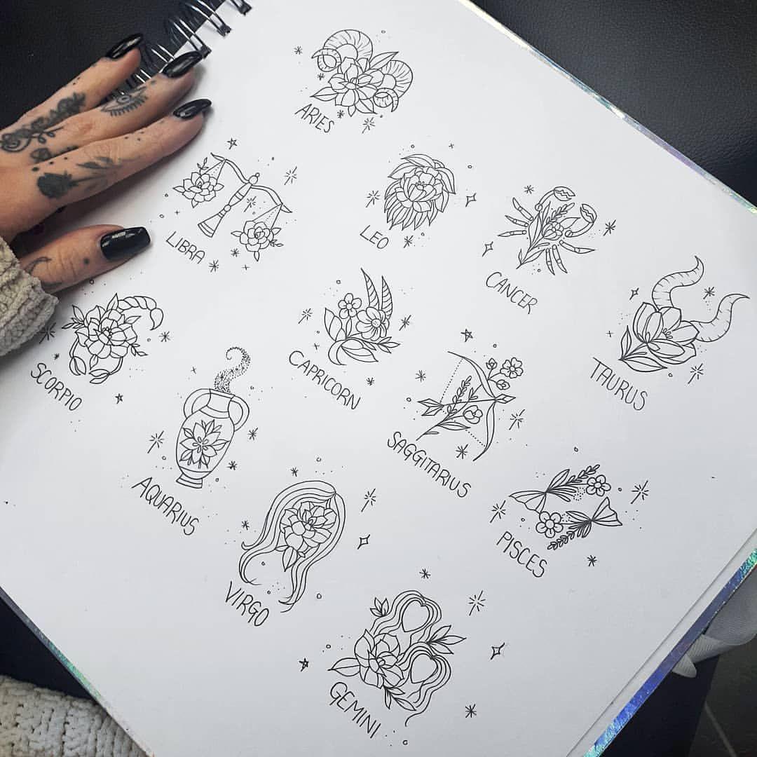 Capricorn Zodiac Horoscope Tattoos (197)