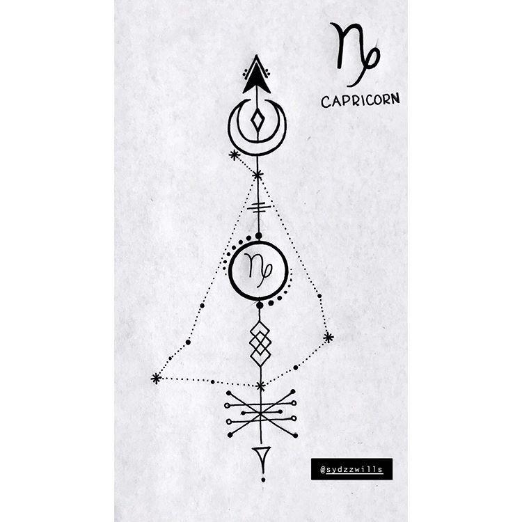 Capricorn Zodiac Horoscope Tattoos (23)