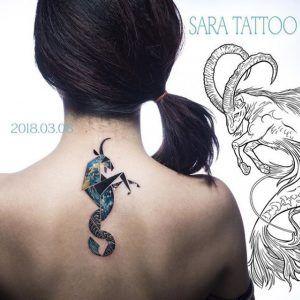 Capricorn Zodiac Horoscope Tattoos (28)