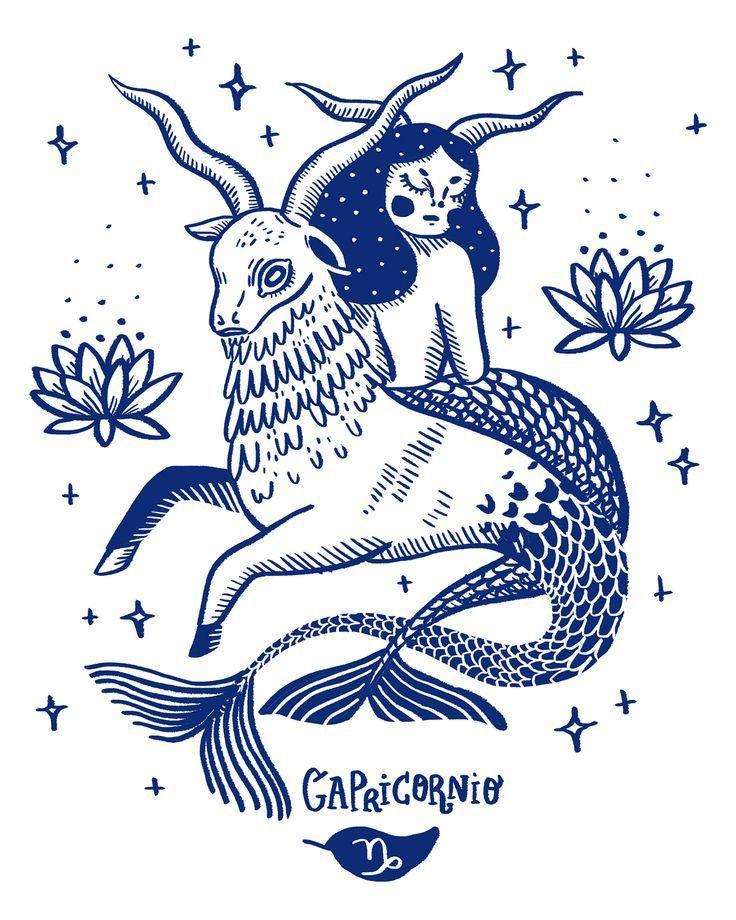 Capricorn Zodiac Horoscope Tattoos (36)