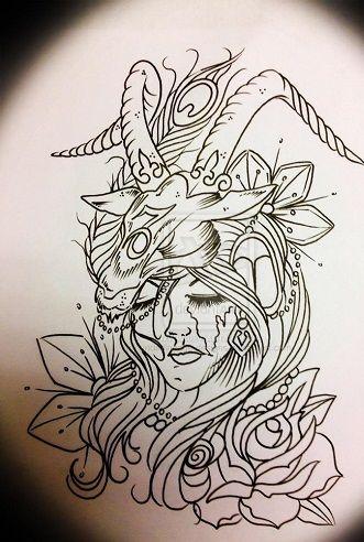 Capricorn Zodiac Horoscope Tattoos (47)