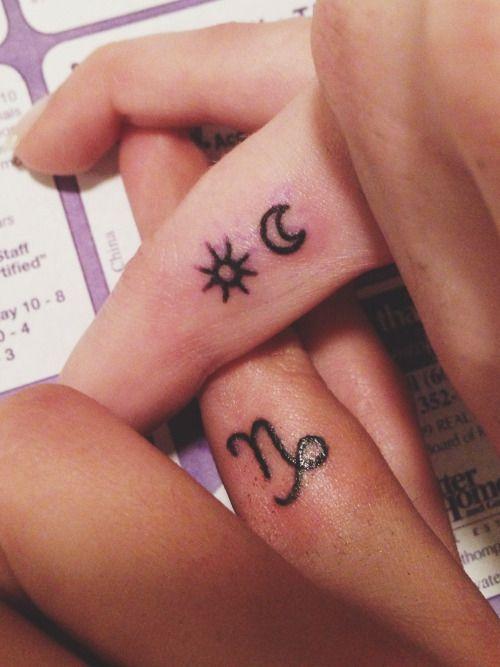 Capricorn Zodiac Horoscope Tattoos (48)