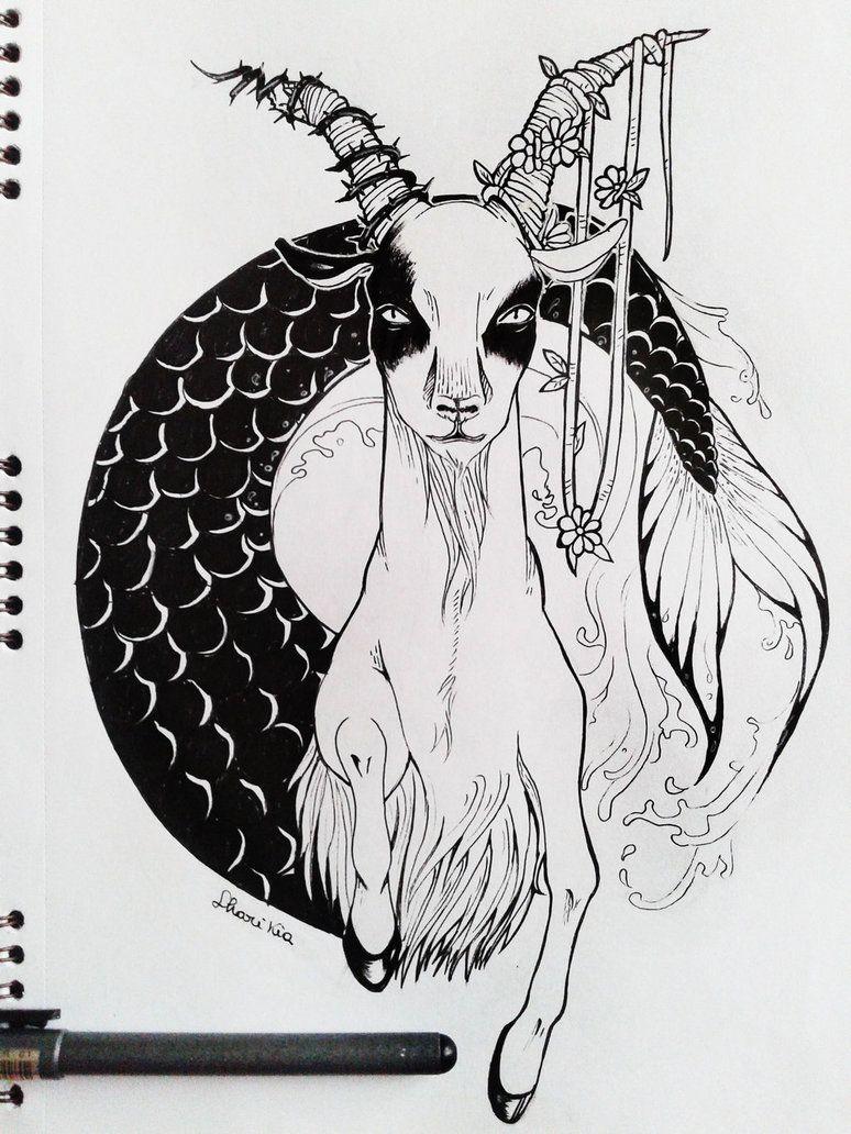 Capricorn Zodiac Horoscope Tattoos (56)