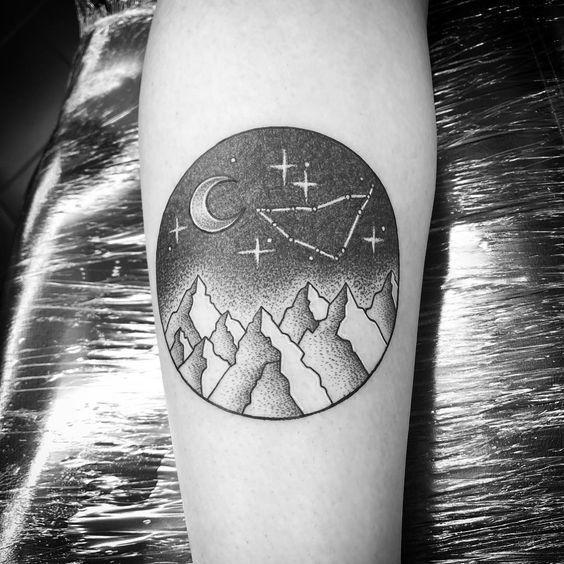 Capricorn Zodiac Horoscope Tattoos (57)