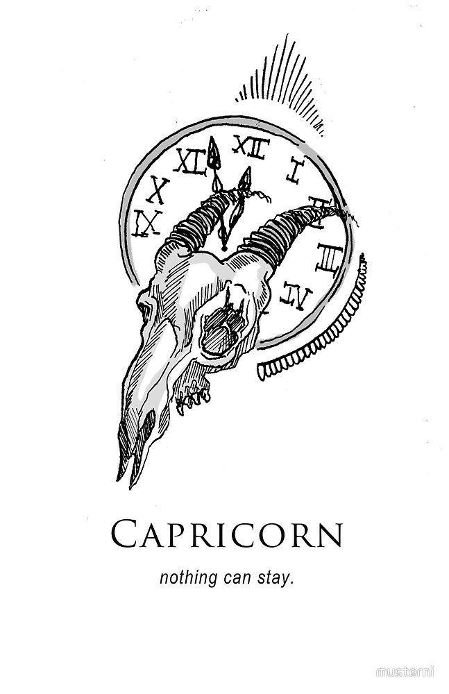 Capricorn Zodiac Horoscope Tattoos (69)