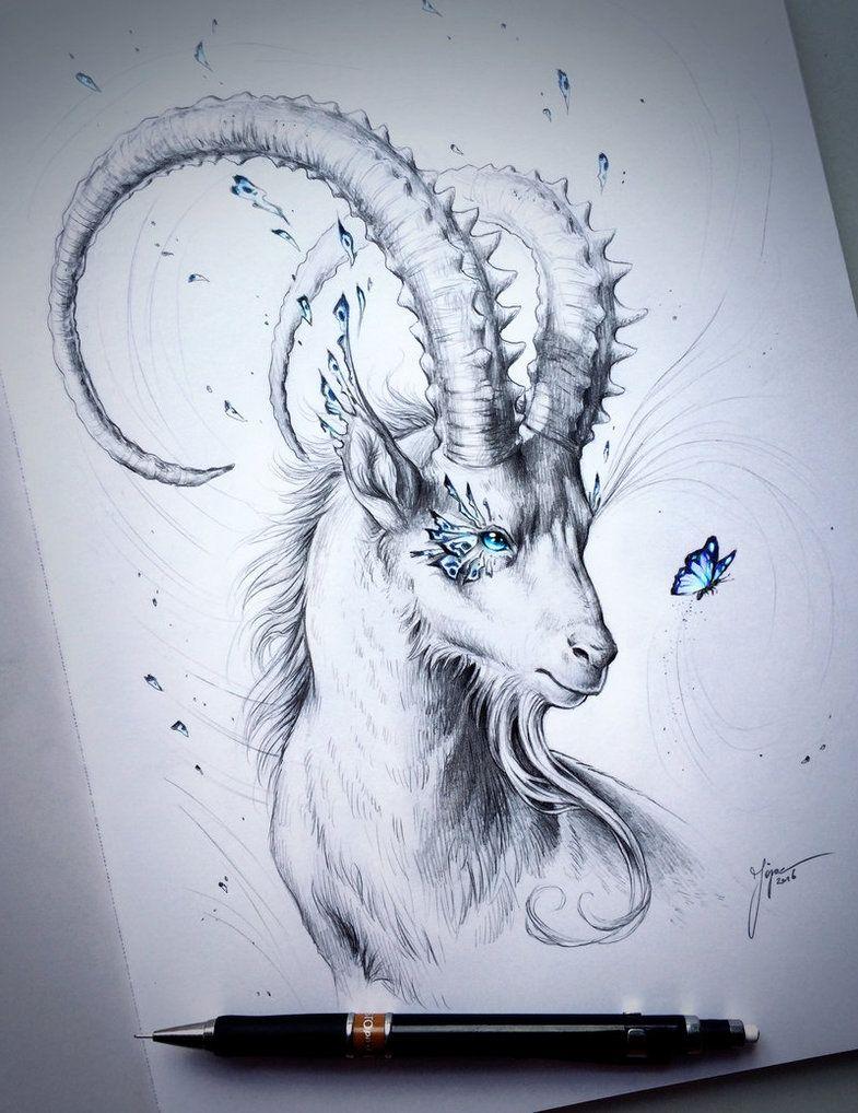 Capricorn Zodiac Horoscope Tattoos (72)