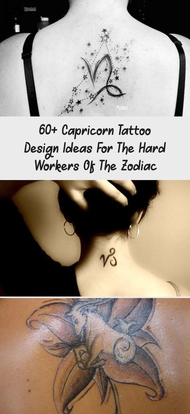Capricorn Zodiac Horoscope Tattoos (75)