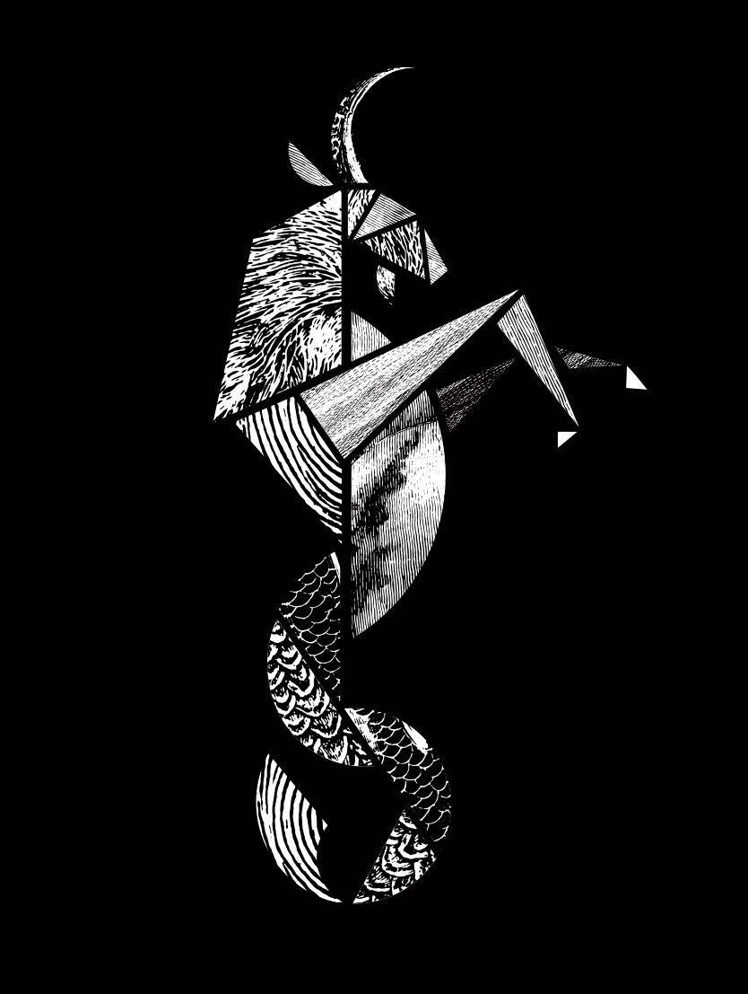 Capricorn Zodiac Horoscope Tattoos (83)