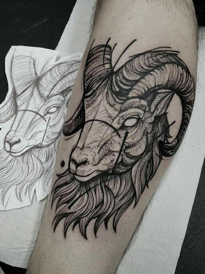 Capricorn Zodiac Horoscope Tattoos (93)
