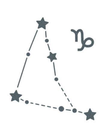Capricorn Zodiac Horoscope Tattoos (98)