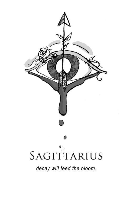 Sagittarius Horoscope Zodiac Sign Symbol (143)