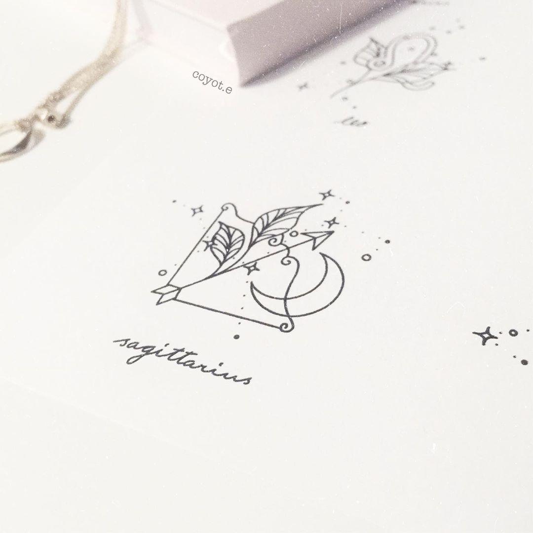 Sagittarius Horoscope Zodiac Sign Symbol (163)