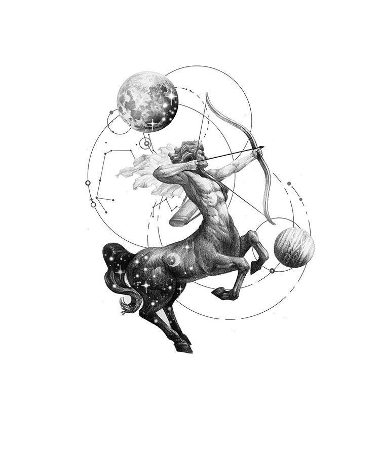 Sagittarius Horoscope Zodiac Sign Symbol (197)