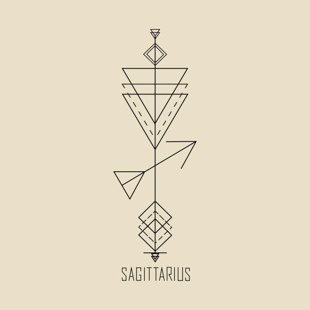 Sagittarius Horoscope Zodiac Sign Symbol (34)