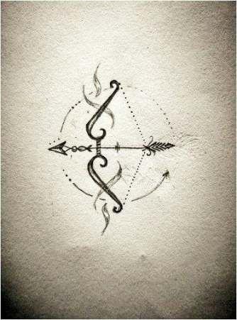 Sagittarius Horoscope Zodiac Sign Symbol (80)
