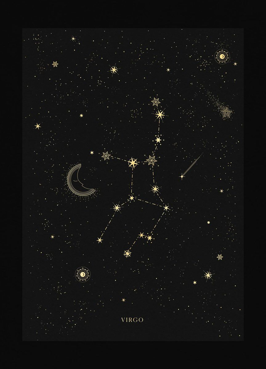 Virgo Zodiac Horoscope Tattoo Designs (103)