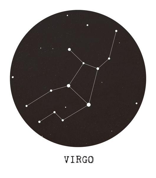 Virgo Zodiac Horoscope Tattoo Designs (115)