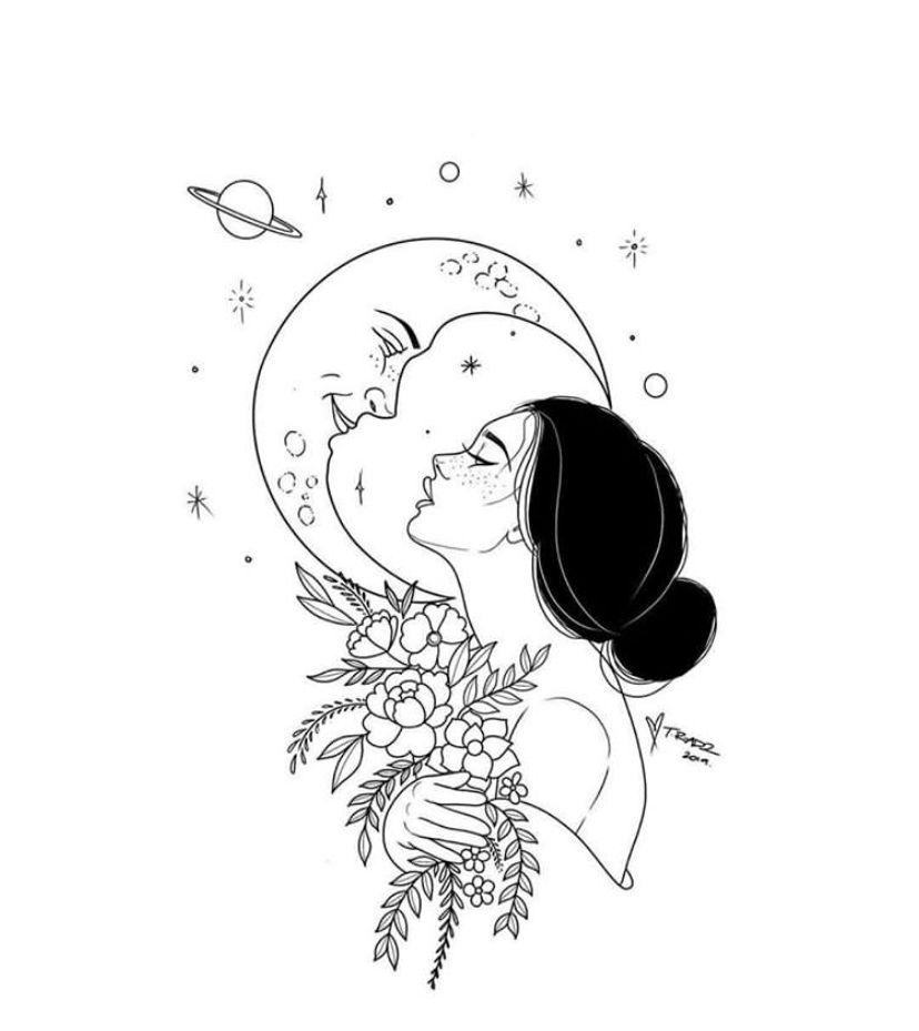 Virgo Zodiac Horoscope Tattoo Designs (141)