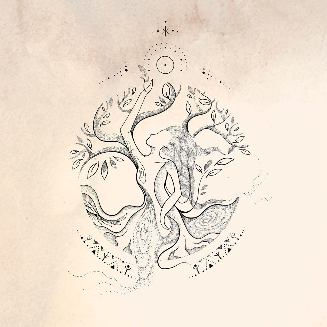 Virgo Zodiac Horoscope Tattoo Designs (174)