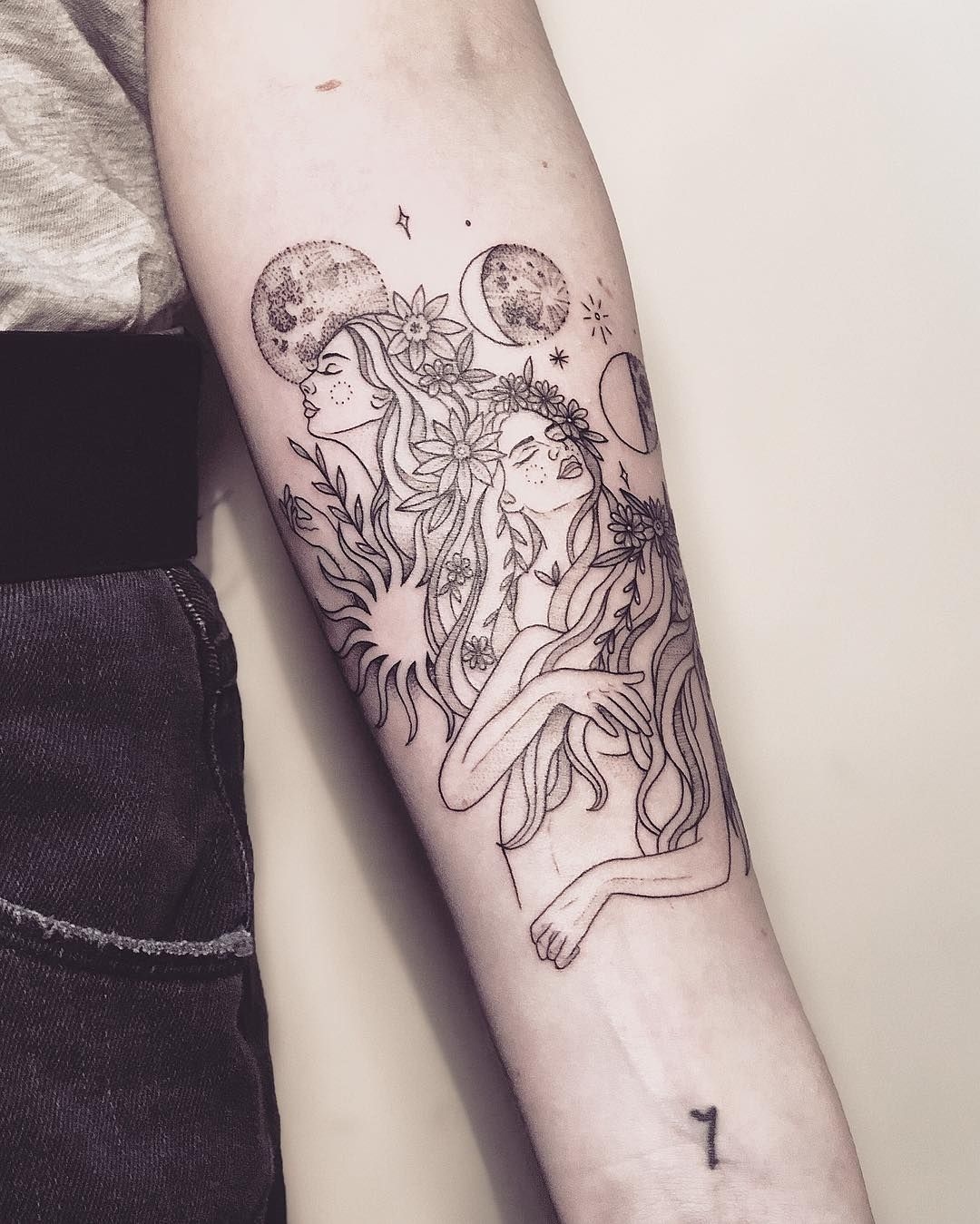 Virgo Zodiac Horoscope Tattoo Designs (176)